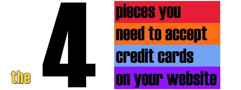 how to add credit card to website