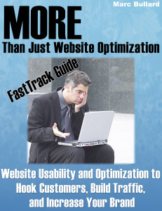 Website optimization and usability